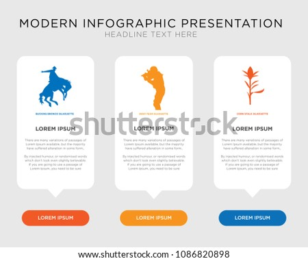 Business Infographic Template Design Corn Stalk Stock Vector HD ...