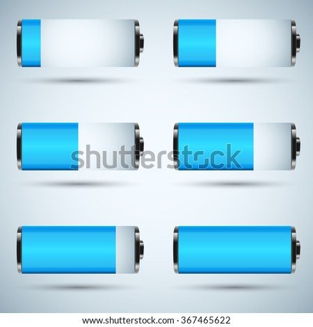 Business Infographics. Abstract 3D digital illustration Infographic. Battery icon.