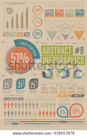 Business infographics set different diagram vector stock vector hd business infographics set with different diagram vector illustration data visualization elements marketing charts and publicscrutiny Images