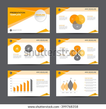 business layouts presentation template infographicsvector