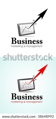 Business logo - stock vector
