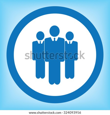 Business Man Icon - stock vector