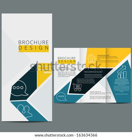 Business modern template - stock vector