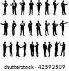 Business People Silhouette Super Set26 unique high-detailed silhouettes featuring beautiful sexy modelsEach Silhouette is groupedFile is AI 8 compatible and easy to manage - stock photo