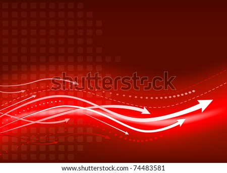 Business presentation background. Mesh used in background. Elements are layered separately in vector file. Easy editable. - stock vector