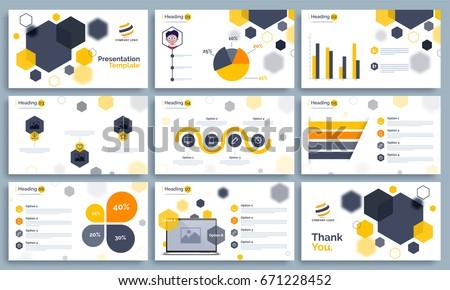 Business presentation templates set statistical infographis stock business presentation templates set with statistical infographis elements powerpoint template design background toneelgroepblik Gallery