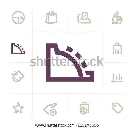 Business Sale Icons - stock vector