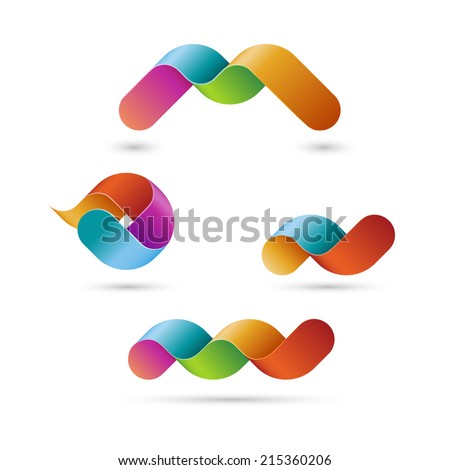 Business shapes, eps10 vector - stock vector