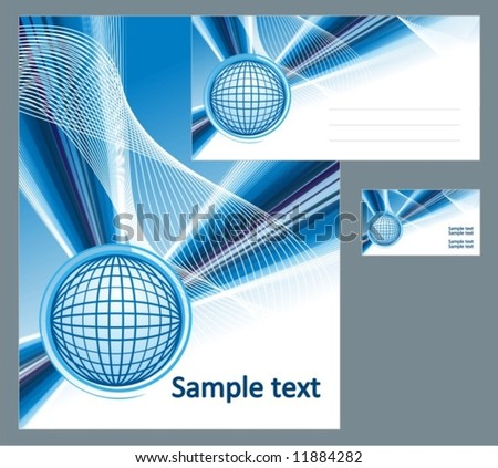 business style - stock vector
