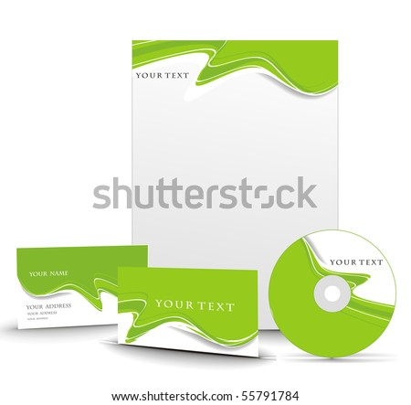Business style templates. Vector illustration. - stock vector