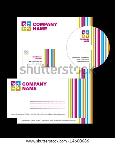 Business style. Vector illustration - stock vector