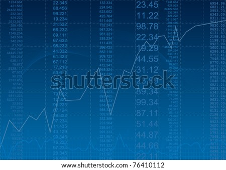 business success and growth concept - stock vector