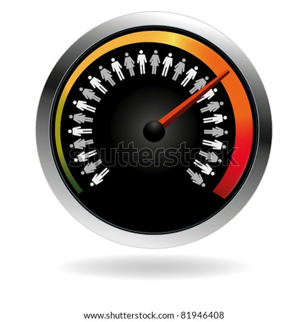 Business teamwork efficiency - stock vector