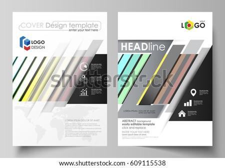 Business Templates Brochure Flyer Cover Template Stock Vector - Templates brochure