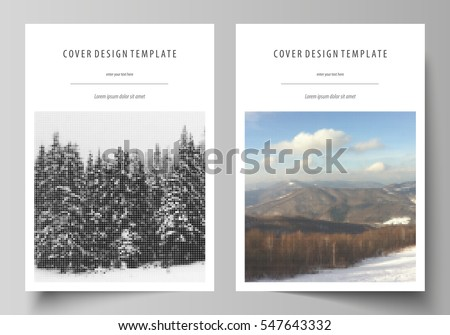 Book Layout Images RoyaltyFree Images Vectors – Free Report Cover Templates