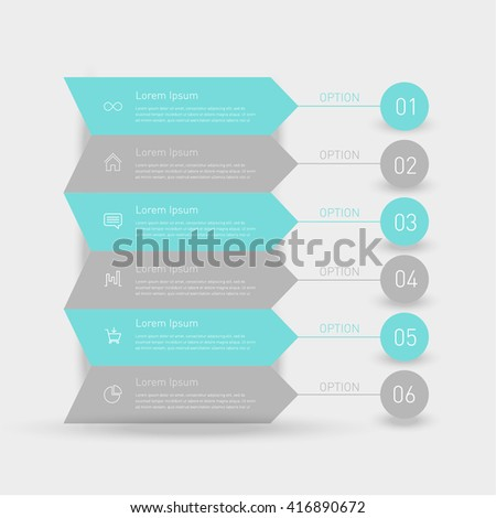Business timeline element for Infographic. Easy to use for your business projects templates for presentation and training. Simple Editable Graphic infographics elements. Vector illustration.