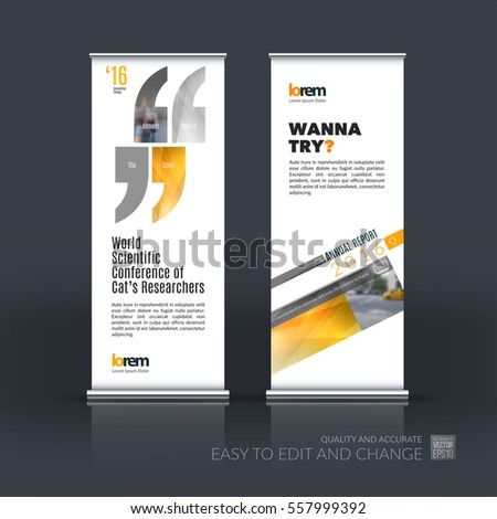 Abstract Cover Design Business Brochure Template Vector – Conference Brochure Template