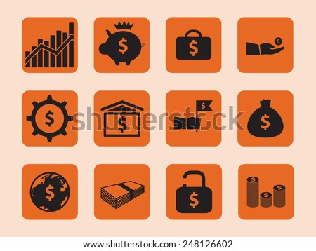 business vector icon., illustration.