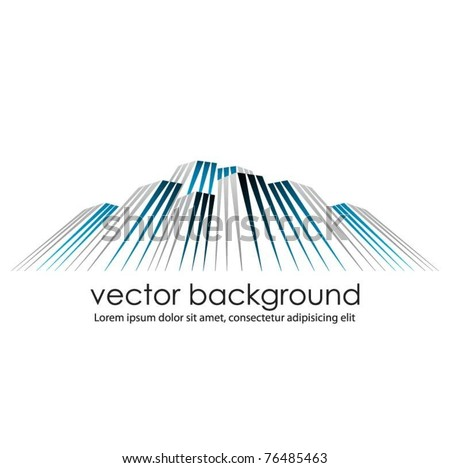 business vector web template - stock vector