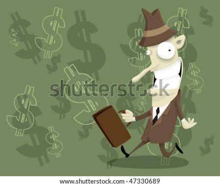 Businessman. - stock vector