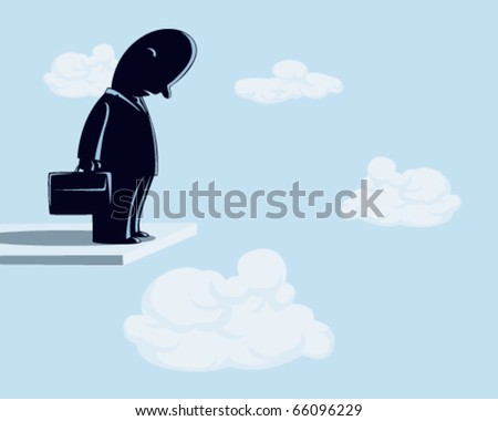 businessman. - stock vector
