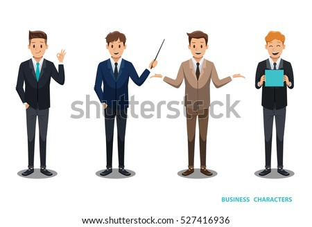 businessman character design No 2