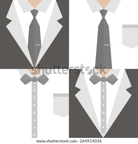 Businessman in a suit - stock vector