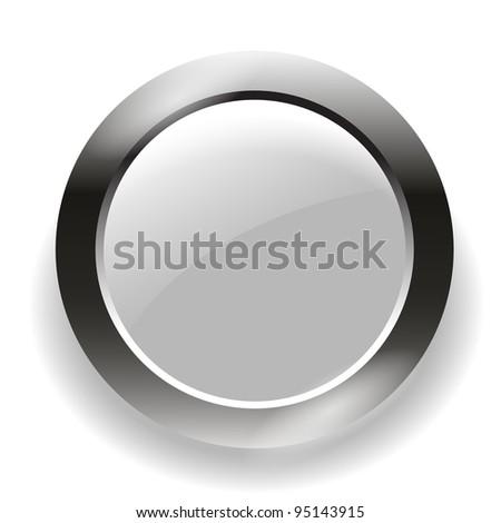 button - stock vector