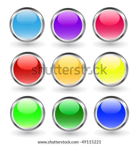 Buttons, elements round
