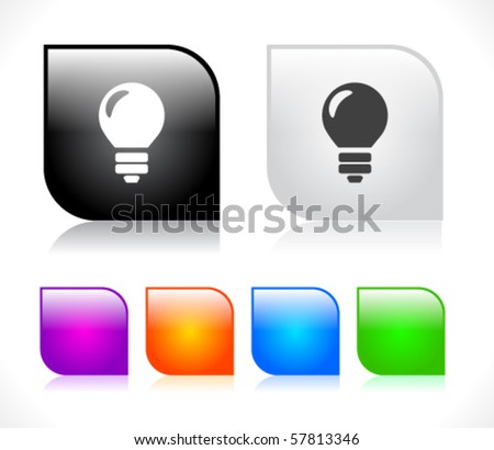 Buttons for web. Vector. - stock vector