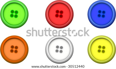 Buttons/studs - stock vector