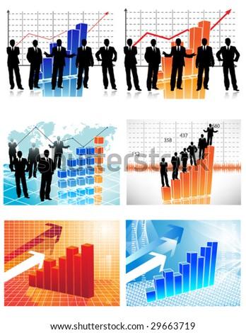 Buy 1 get 6. Business vectors - stock vector
