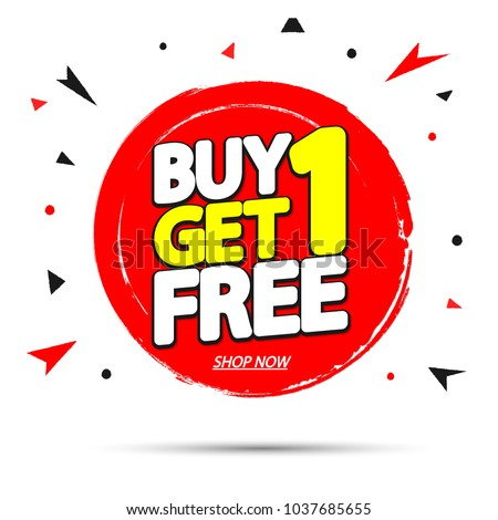 buy 1 get 1 free saleのベクター画像素材 1037685655 shutterstock