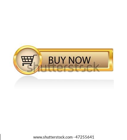 buy now symbol - stock vector