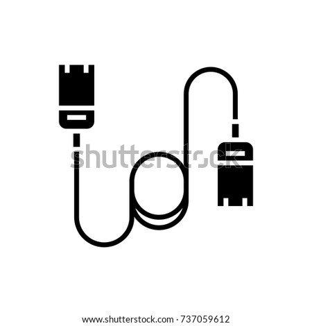 Thin Line Usb Lightning Charging Cable 493827394 on telephone phone line adapter