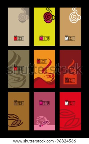 Cafe menu - stock vector