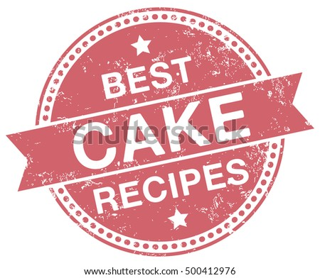 Cake Recipes stamp