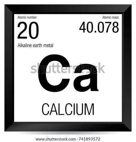 Calcium symbol element number 20 periodic stock vector royalty free calcium symbol element number 20 of the periodic table of the elements chemistry urtaz Choice Image