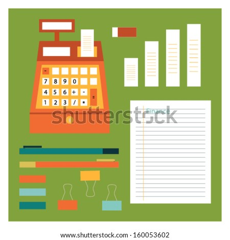 Calculator and paper note