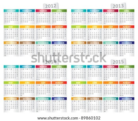 december 2014 color platinum happy new year 2014 greeting card with