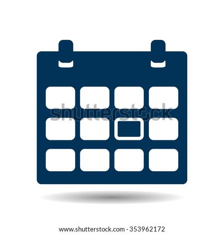 Calendar Icon, Calendar Icon Vector, Calendar Icon JPG, Calendar Icon JPEG, Calendar Icon EPS, Calendar Icon design - stock vector