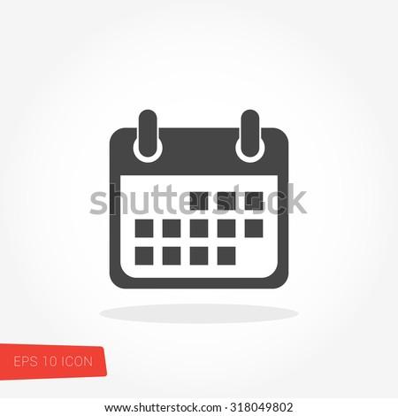 Calendar Icon / Calendar Icon Vector / Calendar Icon Picture / Calendar Icon Graphic / Calendar Icon Art / Calendar Icon JPG / Calendar Icon JPEG / Calendar Icon EPS / Calendar Icon AI - stock vector