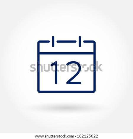 Calendar Icon Vector Stock Photos, Royalty-Free Images & Vectors ...
