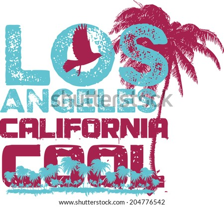 califonia long beach vector art - stock vector