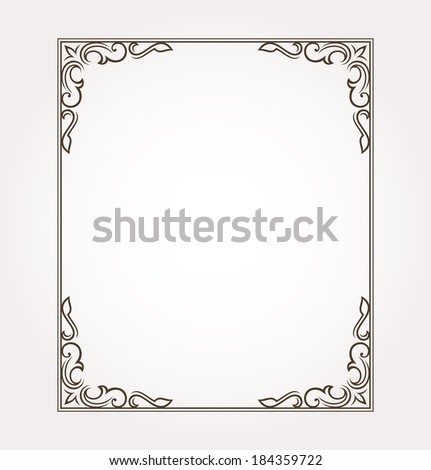 Fancy Border Stock Images, Royalty-Free Images & Vectors ...