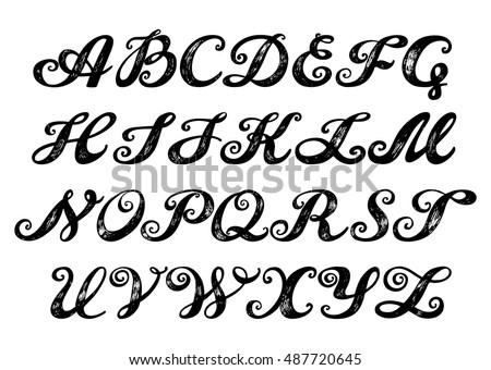 Rope Font additionally Letter W as well Engravingfonts further Fancy Script Lettering Tattoo Designs Denise Wells Flickr 5455311 in addition Simple Vintage Frame Clipart. on medieval letter font