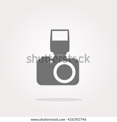 Camera icon, Camera button, Camera icon vector, Camera icon eps, Camera icon jpg, Camera icon picture, Camera icon flat, Camera icon app, Camera icon web, Camera icon art - stock vector