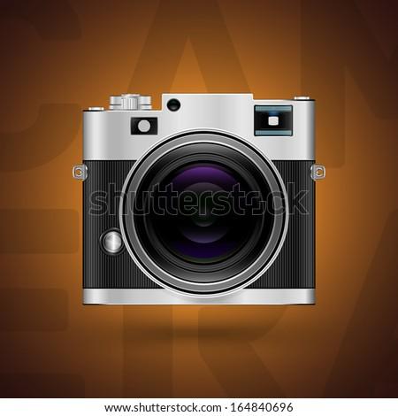 Camera icon. Vector illustration - stock vector