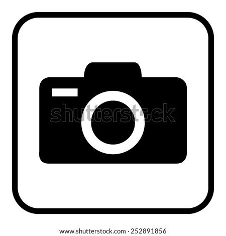 Camera icons. Vector illustration. - stock vector