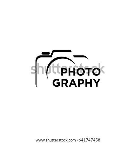 Camera Photography Logo Icon Vector Template Stock Vector 641747458 ...